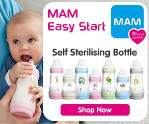 Self Sterilising Bottle Banner Advert